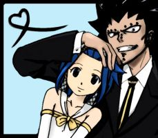 Gajeel x Levy - Fairy Tail by RockerStephiie