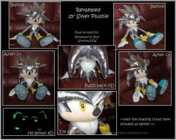 ::Silver Plushie Project'09:: by Blue-Sonikku