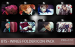 Bts - Wings Folder Icon Pack by SNSDraimakim