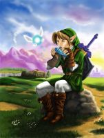 Link and Navi... by Artsy50