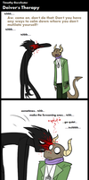 TGf Comic - Deiver's Therapy by blinkpen