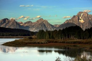 The Tetons by 1001G
