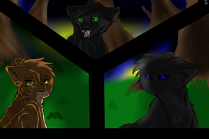 We are the kits of Leafpool and Crowfeather! by Nightclaw5938