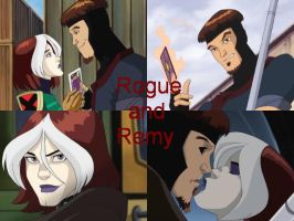 Rogue and Remy 4ever by JesusChick09