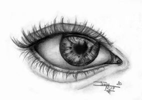 Graphite Eye by irenepk2