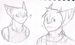 Haven't drawn these dorks in ages. by Racesolar