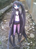 Black rock shooter KUROI MATO by aerizu