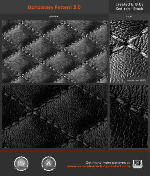 Upholstery Pattern 3.0 by Sed-rah-Stock