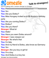 Omegle Hetalia Chat 1 by lumosflare76