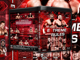 WWE Extreme Rules 2013 Blu Ray Cover by Omarison