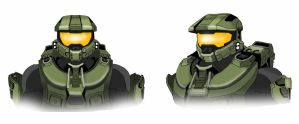 Master Chief (colored) by spaceMAXmarine