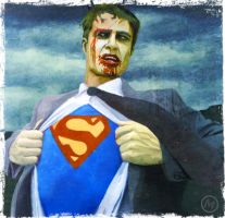 Serie Zombies Superman by JLMeana