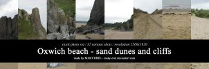 STOCK PHOTO PACK: Oxwich beach (Wales) I by MAKY-OREL