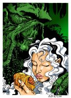 Swamp Thing-Colored by pangaeastarseed