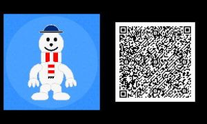 Freakyforms: Mr. Snow QR Code by nintendolover2010