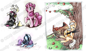 A lot of ponies! 2 by GiMoody