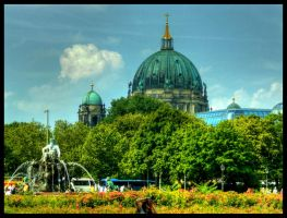 Berliner Dom by eclippse