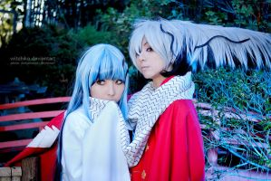 Rikuo Nura and Yuki Onna:::::::: by Witchiko