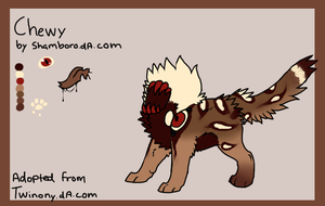 Chewy reference sheet by Shamboro