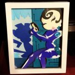 Agent Honeydew - Layered Paper Cut Piece by blackdog393