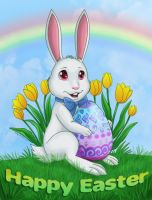 Happy Easter Card by OtakuEC