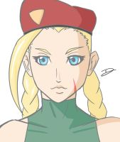 Cammy QuickSketch by Dizuni-san