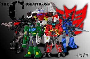 Combaticons - Shattered Glass by MagusTheLofty