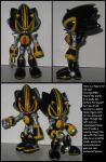 Custom Commission: Shard the Metal by Wakeangel2001