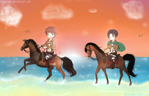 Heichou, its the ocean! by Mainecare