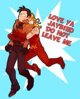 DC: Jason and Roy by dwandwan