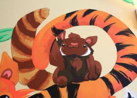 Red Panda by 0AngelicWings0