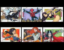 JASON SALDAJENO compiled women of marvel 2 by JASONS21