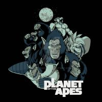 Planet of the Apes by FrozenHRT