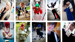 Cosplay 2011-2012 by remismile