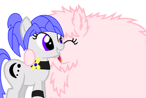 Huggles with teh Pink fluffeh poneh BD by LilyLocket