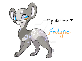 My Evoloon - Evolyne by JB-Pawstep
