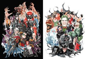 Black and White and some color by duss005