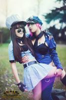 Officer VI Cosplay Officer Caitlyn LoL by AxelTakahashiVIII