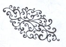 Swirly Tattoo Design by average-sensation