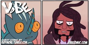 VIBE guest comic: RUDY by SoulKarl