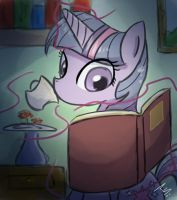 Late Night Reading by Taco-slayer