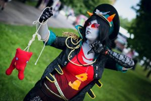 Militarystuck Terezi Pyrope Cosplay by Sioxanne