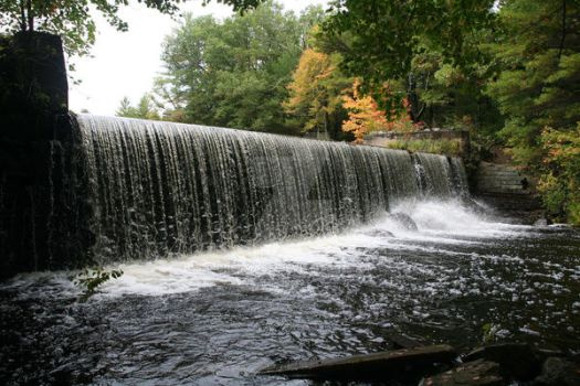 The Falls At Big Round Top by dre4mass