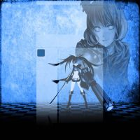 Black Rock Shooter Free Layout by uke-zaidy2008