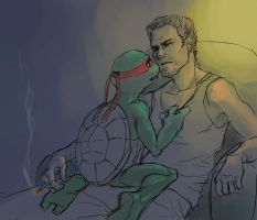 TMNT - home by bluestraggler