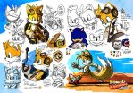 SONIC BOOM Unwrapped - Studies (Tails in Trouble) by darkspeeds