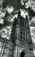 Westminster Palace by CaesarPower