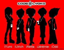 Code Lyoko iPod Gang by DJAelitaHopper