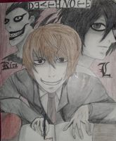 Death Note by KellyEv5