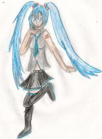 Miku Hatsune by kingofthedededes73